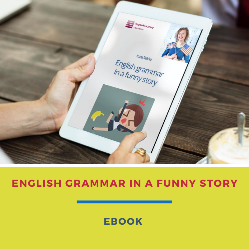 English grammar in a funny story