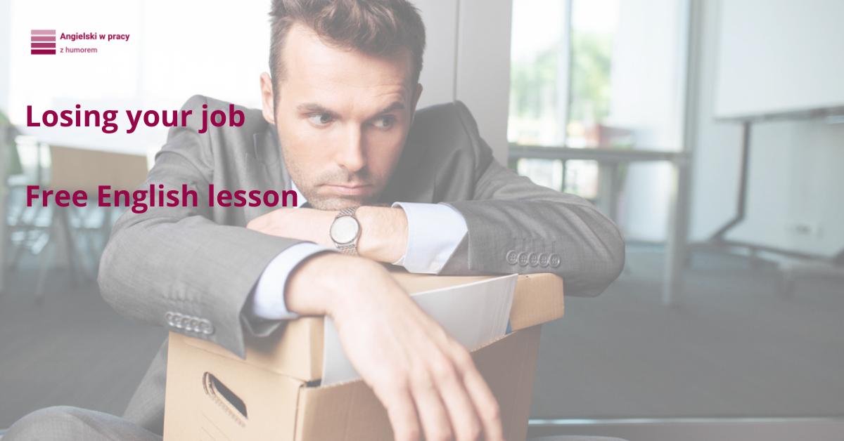 losing your job blog